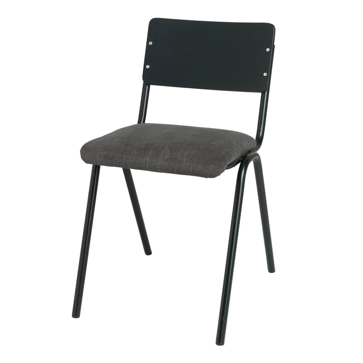 Ole stol, sort / magnet af Broste Copenhagen