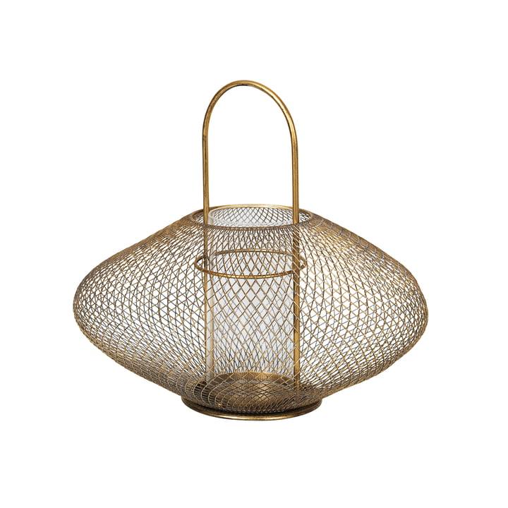 Bodis lanterne, Ø 37,5 x H 35 cm, messing fra Broste Copenhagen