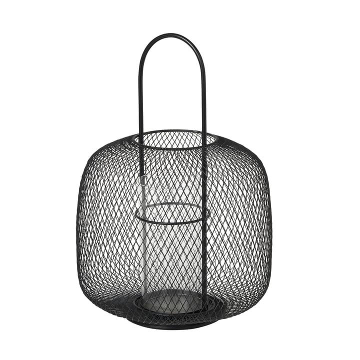 Boden lanterne, Ø 29,5 x H 42,5 cm, sort fra Broste Copenhagen