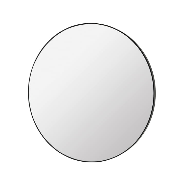 Complete spejl Ø 80 cm, sort fra Broste Copenhagen