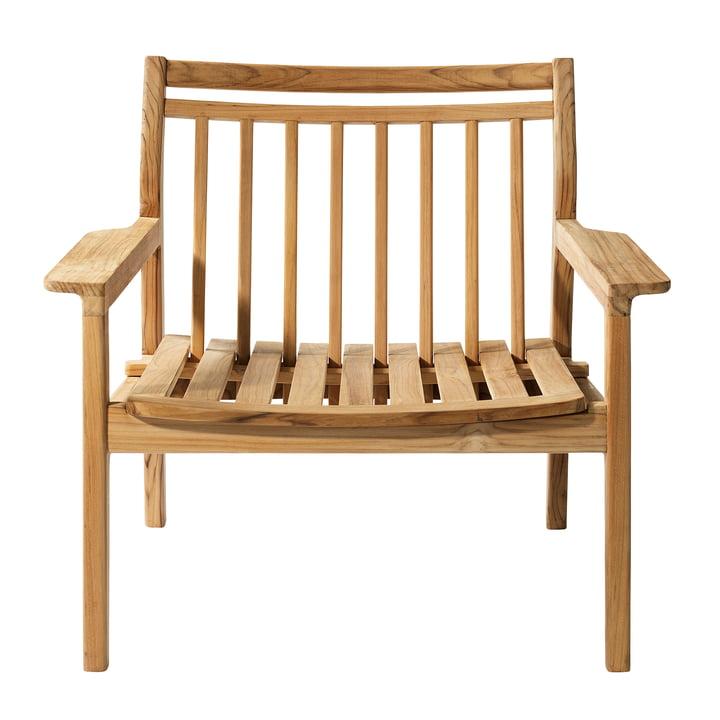 M6 haven lounge stol af FDB Møbler i teak