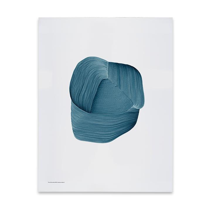 Drawing 3 plakat 50 x 68,7 cm fra The Wrong Shop i blåt