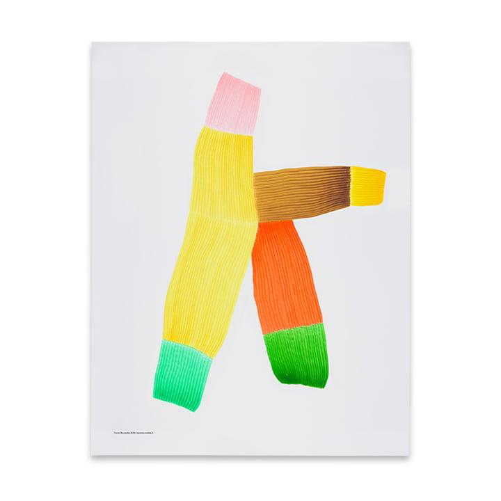 Drawing 2 plakat 50 x 68,7 cm fra The Wrong Shop i flerfarvet