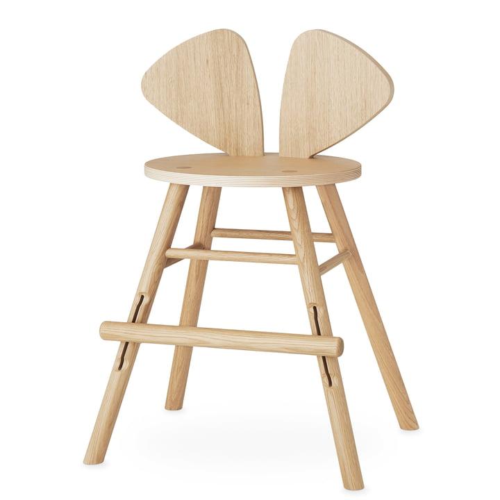 Mouse Junior stol af Nofred i matlakeret eg
