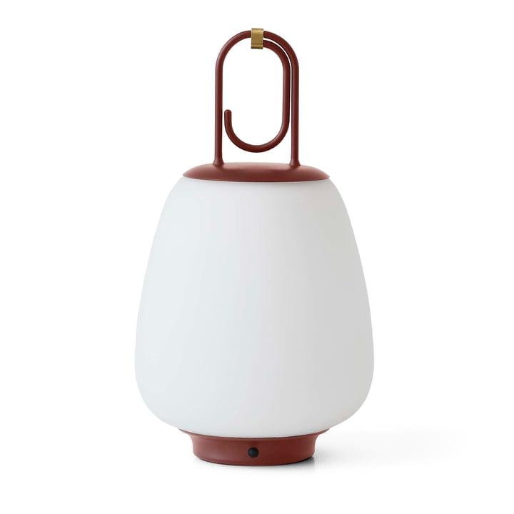 Lucca SC51 Portable batteri LED udendørs lys af & tradition i rødbrun