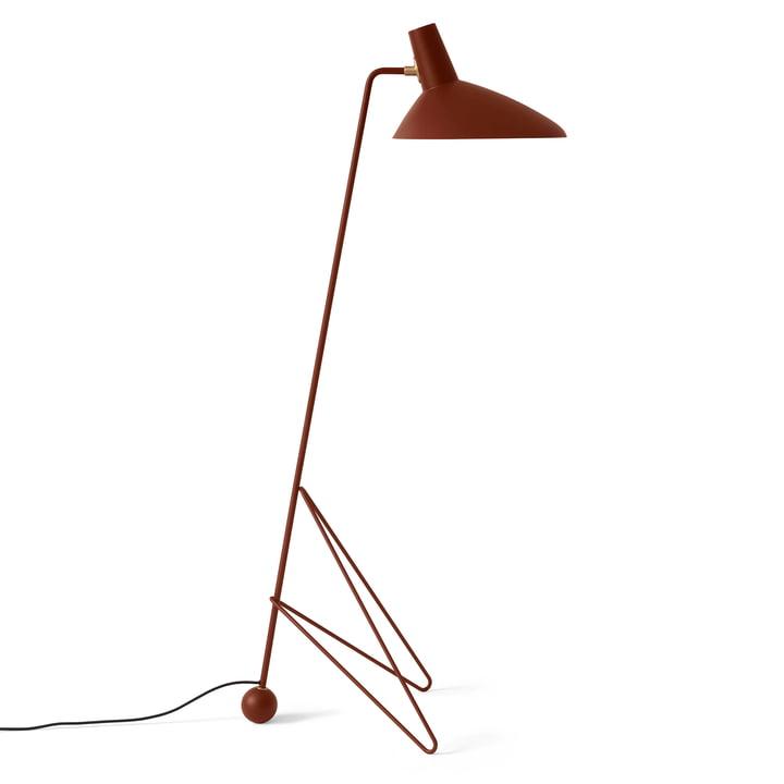 Tripod HM8 gulvlampe af & tradition i rødbrun