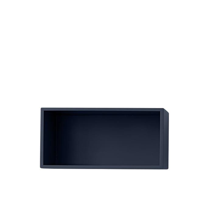 Mini Stacked hylde modul 2. 0, lille / midnight blue af Muuto