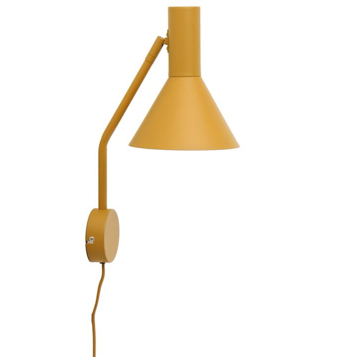 Lyss væglampe, mandelmatt af Frandsen