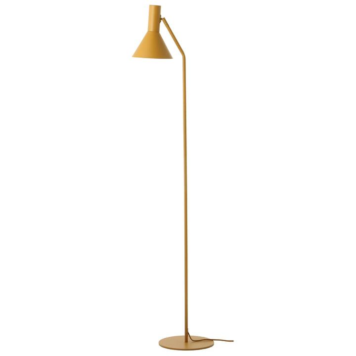 Lyss gulvlampe, mandelmatt af Frandsen