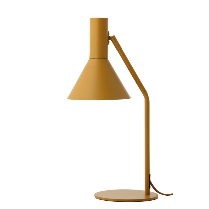Lyss bordlampe, mandelmatt af Frandsen
