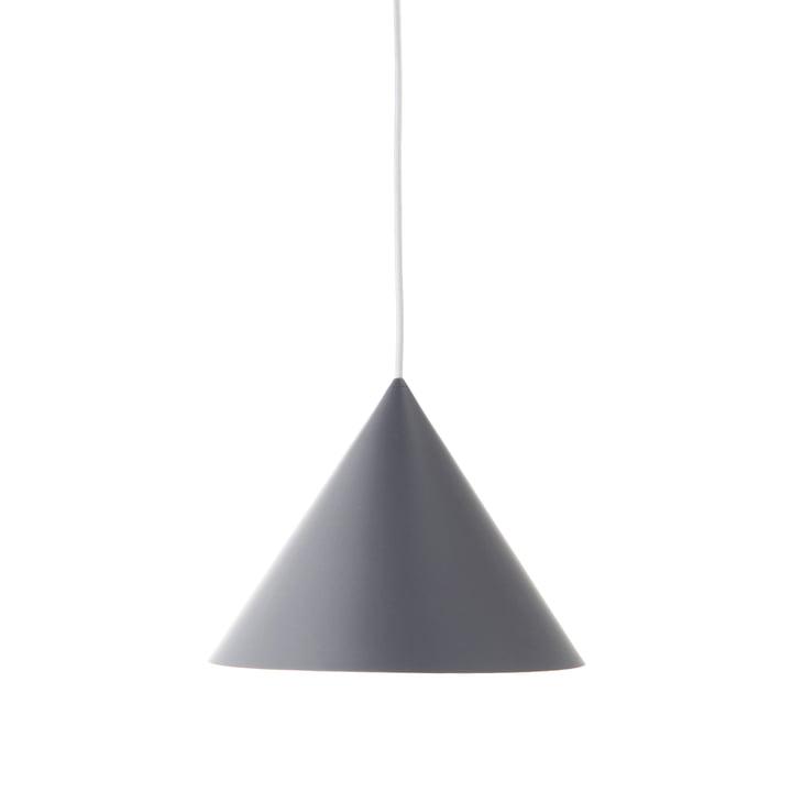 Benjamin pendellampe Ø 30 cm, grå mat af Frandsen