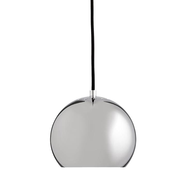 Ball Ø 18 cm, krom / hvid fra Frandsen