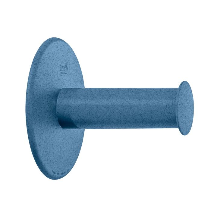 Plug'n Roll toiletpapirholder fra Koziol i organic dybblå