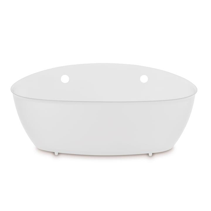 Splash badeværelse silo af Koziol i bomuld hvid