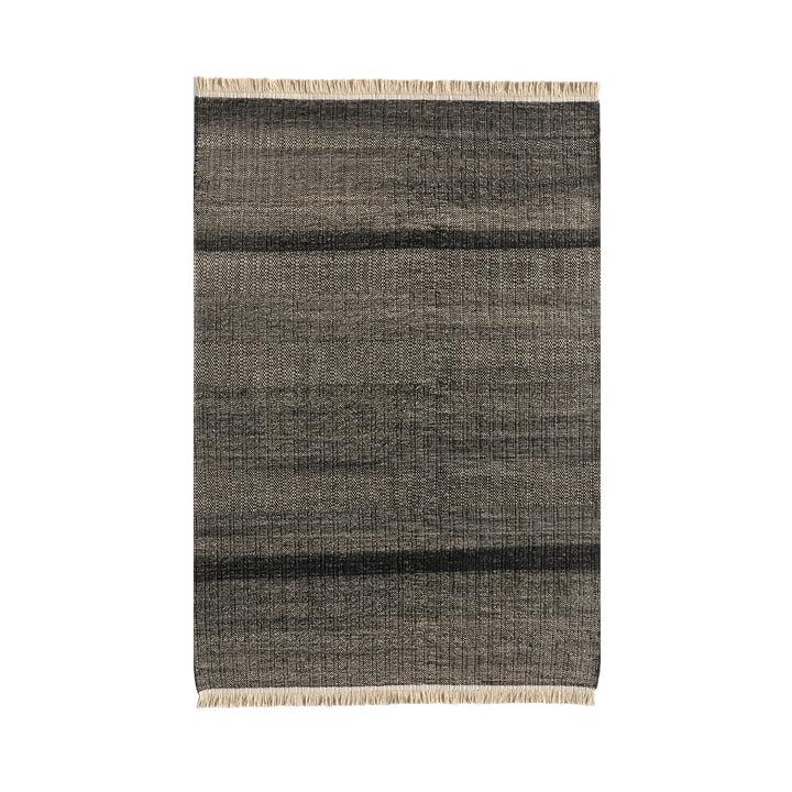 Tres Stripes udendørs tæppe 170 x 240 cm af nanimarquina i sort