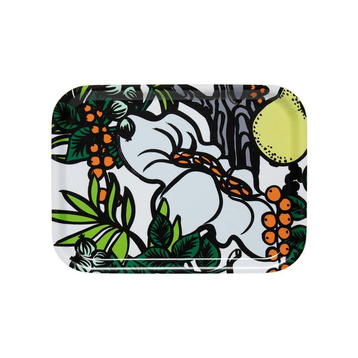 Pala Taivasta bakke 27 x 20 cm af Marimekko i hvid / grøn / orange / gul