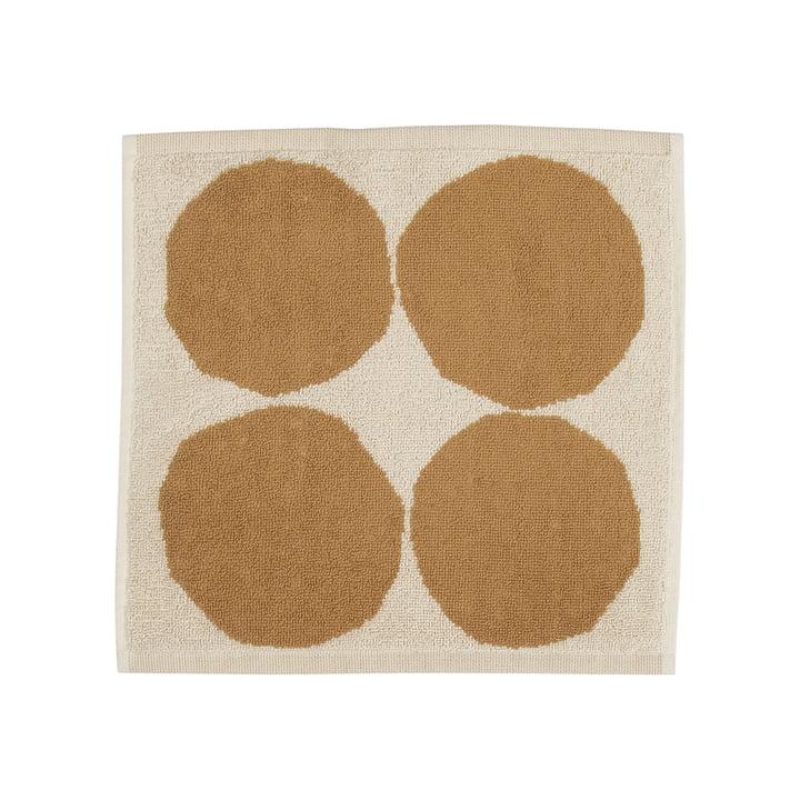 Kivet 30 x 30 cm af Marimekko i bomuldshvid / beige