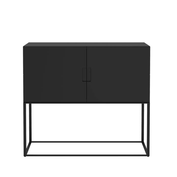 Fischer reolsystem, Design No. 1 af Objekte unserer Tage i sort