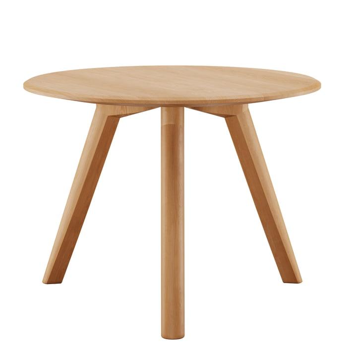 Meyer sofabord Medium H 45 Ø 58 cm fra Objekte unserer Tage vokset i egetræ