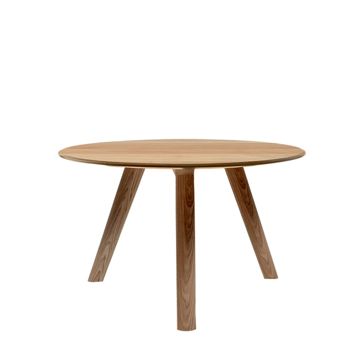 Meyer sofabord medium H 45 Ø 58 cm fra Objekte unserer Tage i vokset eg