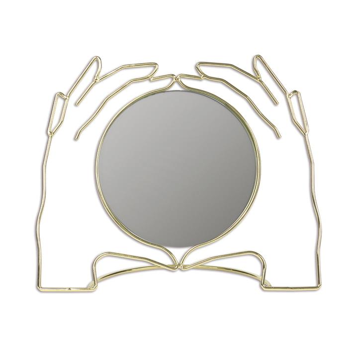 Xéria bordspejl, guld af Doiy