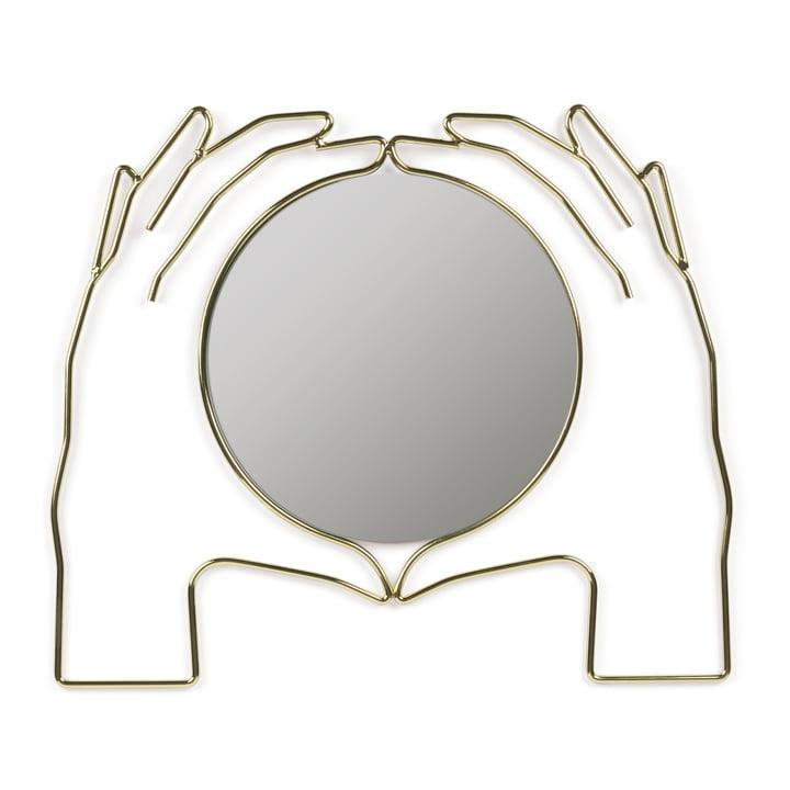 Xéria væg spejl, guld af Doiy