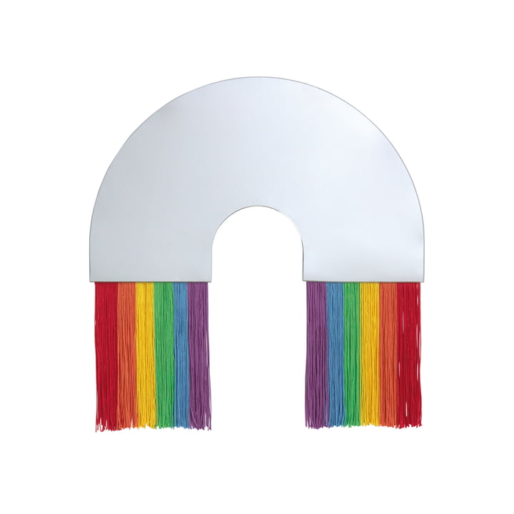 Rainbow væg spejl M af Doiy