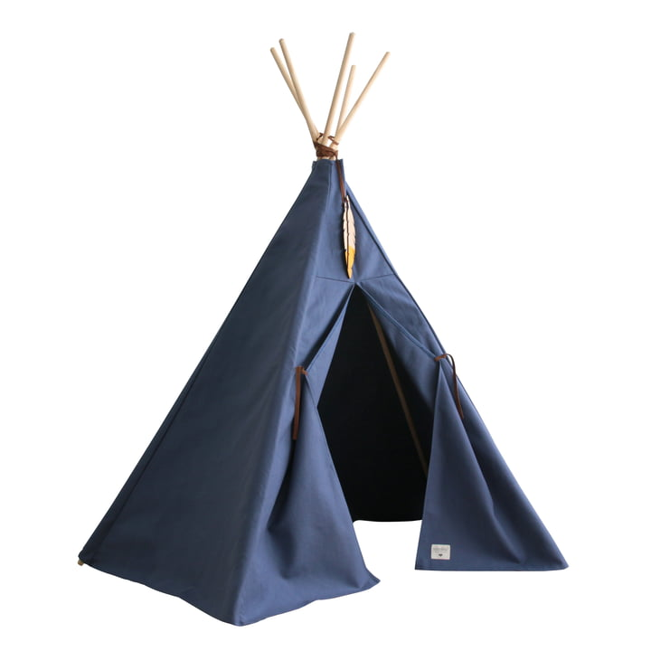 Nevada Tipi telt, aegean blue af Nobodinoz