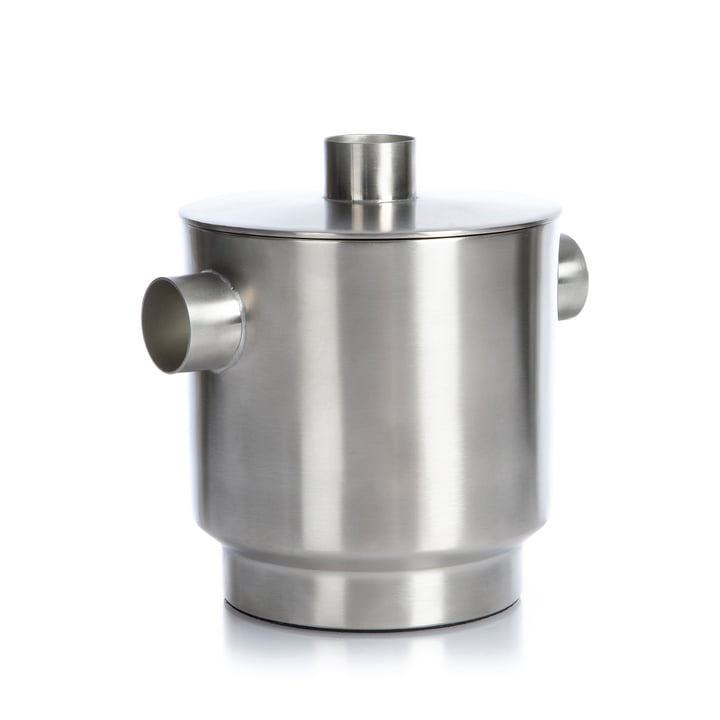 Rondo XLBoom lille, rustfrit stål, Ø 13 cm fra XLBoom