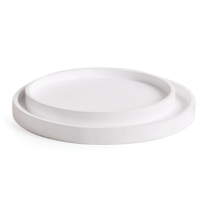 Sæt med Low bakke (sæt med 2), hvidt af XLBoom