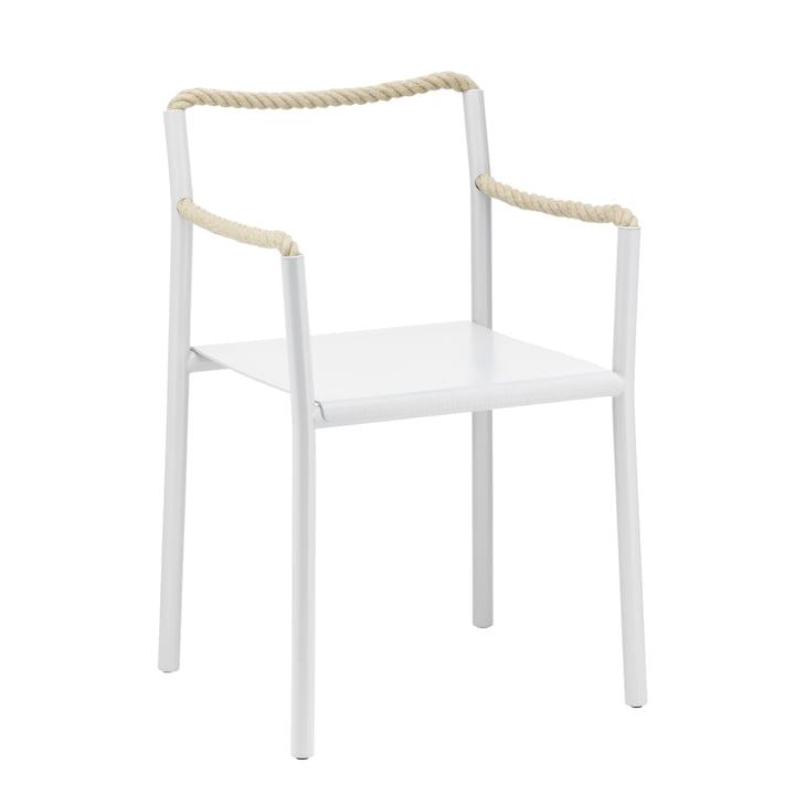 Rope Chair fra Artek i lysegrå / naturlig