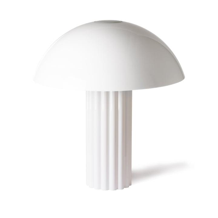 Cupola bordlampe fra HKliving i hvidt