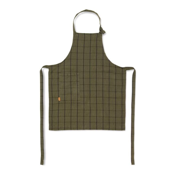 Hale køkken forklæde, grøn / sort fra ferm Living