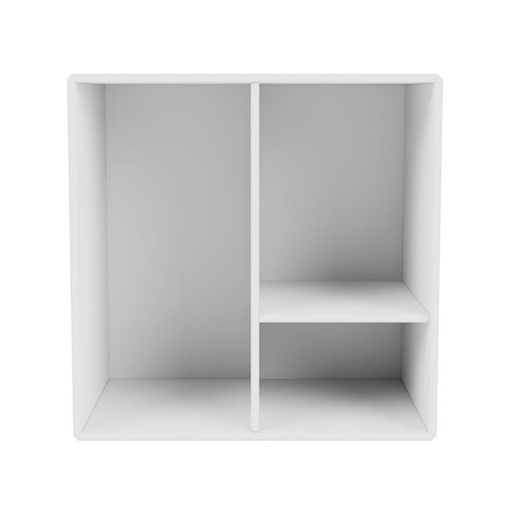 Mini hylde modul med hylder, new white fra Montana .