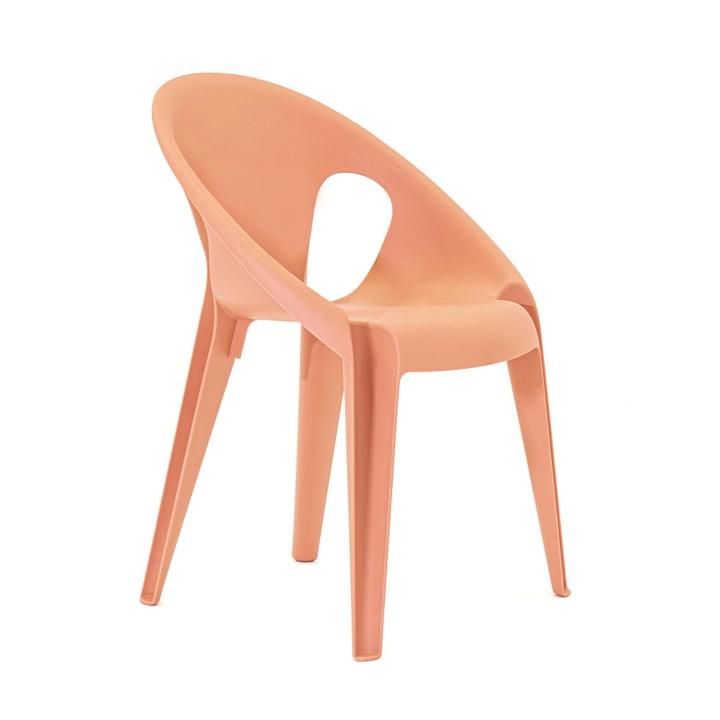 Klokkestol i farven solrose orange