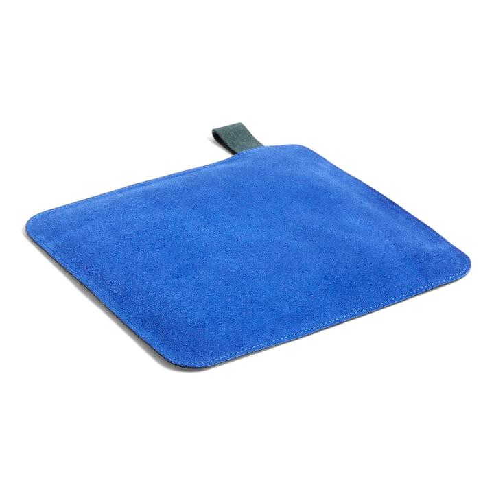 Suede, 21,5 x 21,5 cm, blå af Hay .