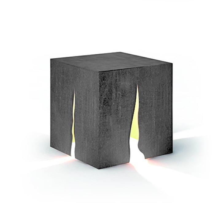 Granito udendørs gulvlampe H 30 cm, grå af Artemide
