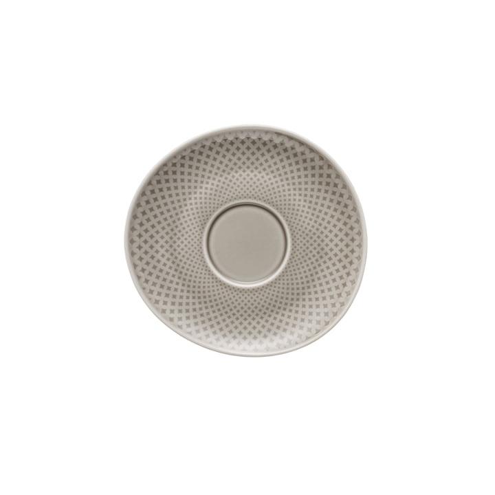 Junto kombination / te / kaffefat Ø 15 cm, pearl grey af Rosenthal