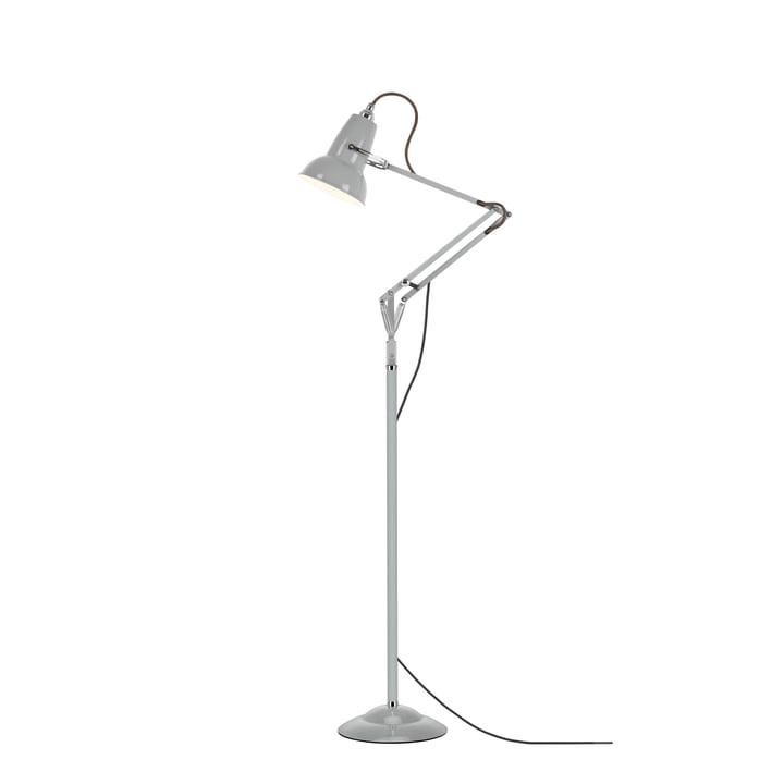 Original 1227 mini gulvlampe, due grå (kabel: grå) fra Anglepoise