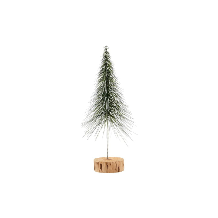 Juletræ Spinkle H 28 cm, natur af House Doctor