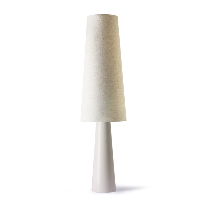 Den Retro gulvlampe Cone, creme fra HKliving