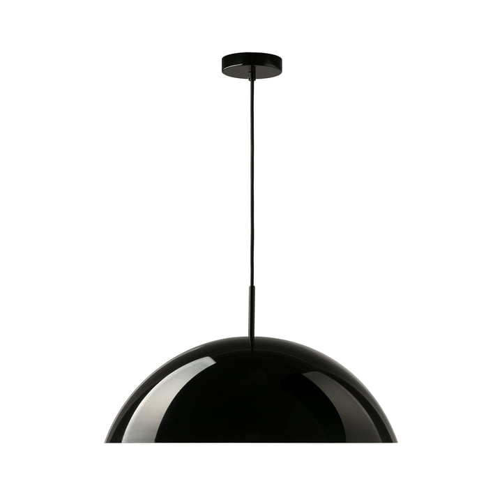 HKliving - Cupola HKliving, Ø 56 x H 20 cm, sort