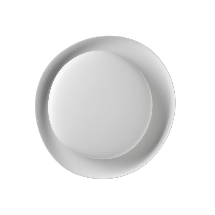 Bahia Mini LED væg- og loftslampe, hvid (dæmpbar) fra Foscarini