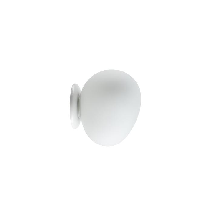 Gregg væg- og loftslampe LED, piccola / hvid fra Foscarini