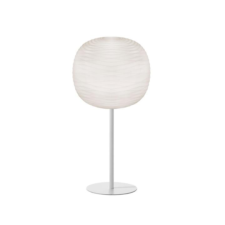 Perle bordlampe med stativ, hvid / hvid fra Foscarini