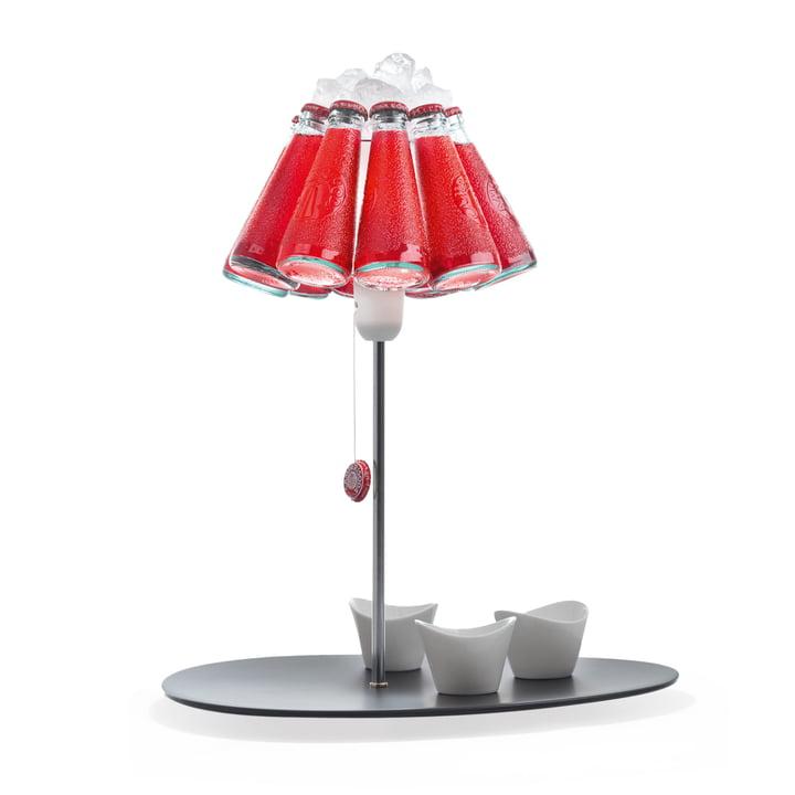 Campari Bar bordlampe, rød (EU) af Ingo Maurer