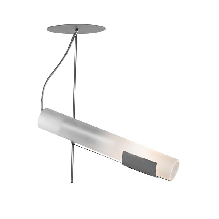 Zuuk væglampe, rustfrit stål af Ingo Maurer