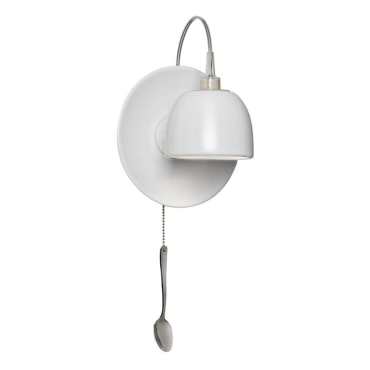 Light au Lait væglampe, hvid (EU) af Ingo Maurer