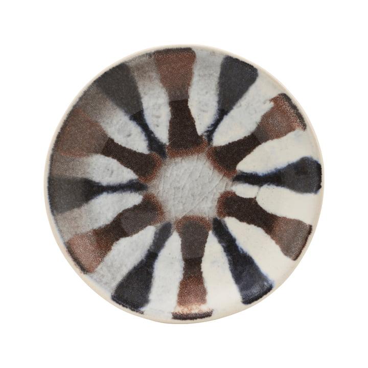 Organi-pladen, Ø 15,7 cm, farvet af House Doctor