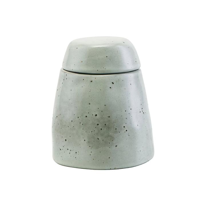 Den Rustic sukkerskål med låg, gråblå af House Doctor